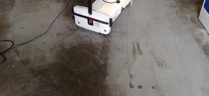 Industriebetonboden effektiv reinigen